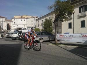 Cross Country Atina 2014 Guglielmetti in azione gara allievi