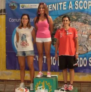 Cross Country Atina 2014 podio femminile