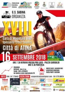 Locandina MTB 2018